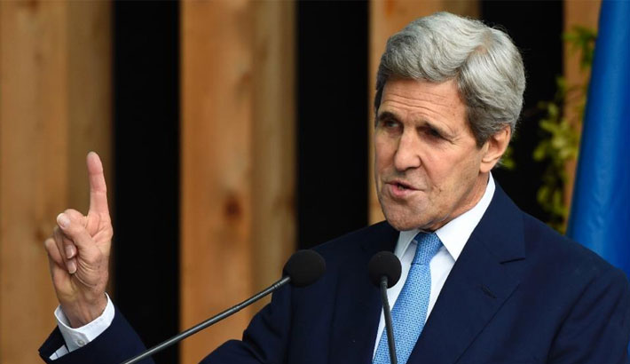 Climate change fans global security crisis: Kerry