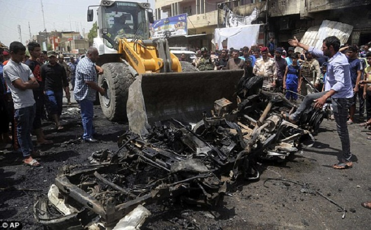 At least 7 killed in ISIS car bomb attack in Baghdad