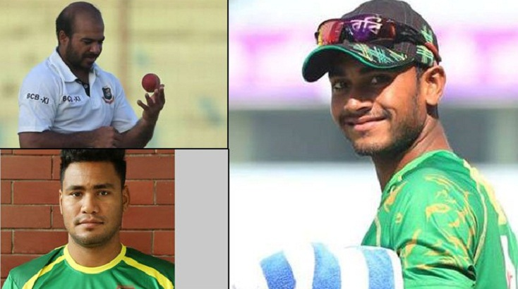 Miraz, Shubashis and Tanbir call-up in the 15-man squad for first ODI