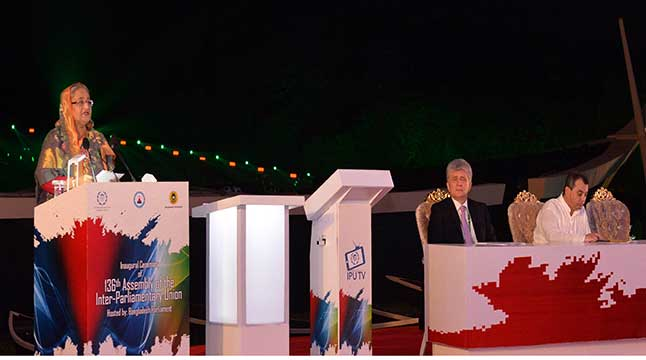 PM urges IPU leaders to fight poverty, militancy