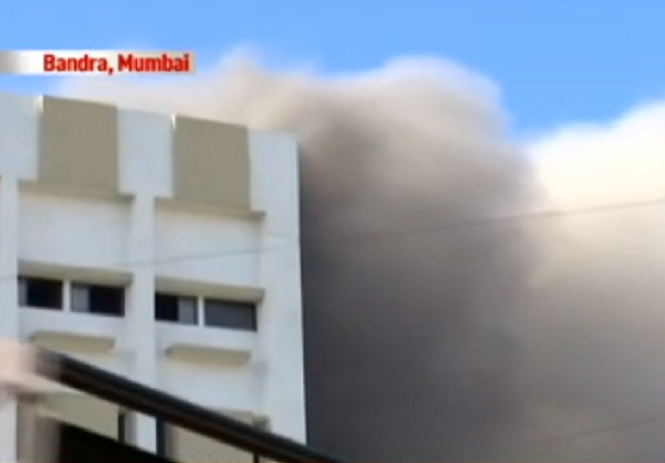 Blaze at MTNL building in Mumbai, 100 feared trapped