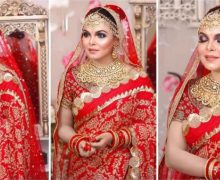 Actress Shaon in bridal look, photo goes viral
