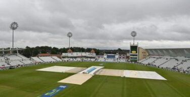 England, India draw 1st test after rain wipes out 5th day